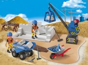 Playmobil 6144 Staveniště,  superset