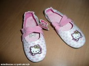 Boty baleriny Hello kitty vel 27 UK9 17cm