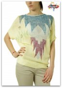 DESIGUAL SLEEVE LIGHT YELLOW vel S- M IHNED