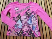 MONSTER HIGH - kvaitní bavlněné triko