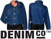 Džínová bunda zn. DENIM CO vel. 46(18)
