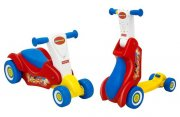 Fisher Price scooter 2 v 1 akce