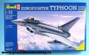 04317Eurofighter TYPHOON single seater Revell 1:72