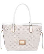 -Kabelka GUESS Logo Remix Small Classic Tote