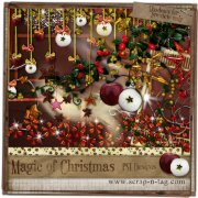 Magic Of Christmas - minikit pro digiscrapbook
