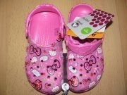 SUPER NOVINKA - CROCS HELLO KITTY GOOD TIMES CLOG!