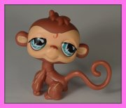 +++ LITTLEST PET SHOP - LPS - OPIČKA +++