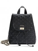 Batůžek GUESS Quilted Leather Backpack