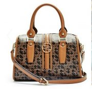 Kabelka GUESS Heritage Quattro G Frame Satchel A1