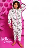 HELLO KITTY pyžamko overálek ONESIE 104 4-5 let