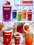 @@@ ZOKU SLUSH AND SHAKE MAKER, blue @@@