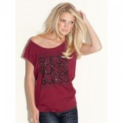 Top Guess Neon Lights Tee