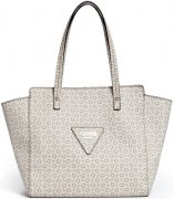 Luxusní kabelka Guess - Liberate Logo Tote Nude