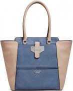 Kabelka Guess - Wilmington Color-Blocked Carryall