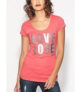 *Triko G BY GUESS - LOVE LOVE TEE
