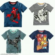 Tričko SpiderMan,BatMan,IronMan 92 H&M