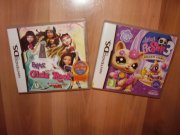 Hry na nintendo DS - Littlest Pet shop 3 a Bratz