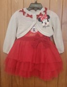 NAHERNY SET MINNIE MOUSE 12-18 mes