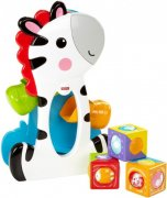 Fisher Price Zebra a kostky