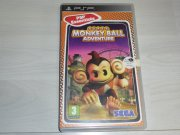 SONY PSP super monkey ball adventure