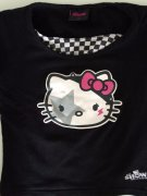 HELLO KITTY - triko; 7 let