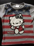 HELLO KITTY - triko; 6 - 7 let