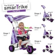 Tříkolka Smart Trike Spirit 4v1 PURPLE