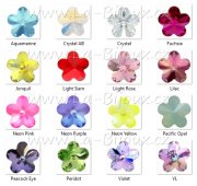 Swarovski Flower Stone 10mm