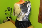 DESIGUAL - FANTASTICKÝ TOP - N.O.V.Ý - PC 61€ !