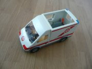 Sanitka,ambulance - PLAYMOBIL
