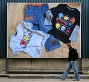 komplet jeansů a trik Mr.Men by NEXT