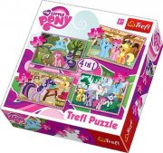 Puzzle - My little Pony 4v1