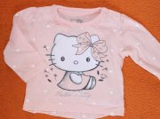 AD210. Tričko s Hello Kitty 3-6 měs.