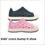 Crocs Bump It růžové vel. 28