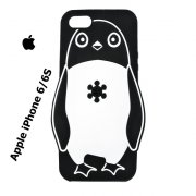 Black & White Penguin Pouzdro Apple iPhone 6 kryt