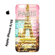 Phone Case Apple iPhone 6 6S Paris Places