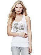 Tílko G BY GUESS Delaney Heart Tank vel. M , L