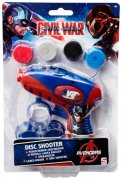 DISC SHOOTER CAPTAIN AMERICA
