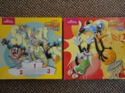 Puzzle Looney Tunes - Taz, Bunny, Duffy, Silvester