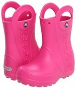 Crocs Rain Boot Kids fuchsia (C11)