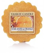 Star anise & Orange vonný vosk Yankee candle