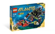 LEGO ATLANTIS 8079 - SHADOW SNAPPER 2. JAKOST