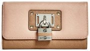 Peněženka G by Guess - Belfair Slim Wallet Tan