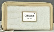 GUESS penezenka Kingstown cognac kremova