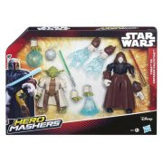 Hasbro B3830 Hero Mashers Star Wars - Yoda vs Palp