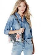 Kabelka GUESS Linea Floral-Print Cross-Body - - -