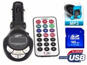 TRANSMITTER FM MP3 MP4 USB JACK TRANSMITER SD
