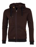 Pánská mikina Fellas Fleece Men´s Brown Woox