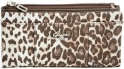 Peněženka Guess - Flowing Leopard Fold-Over Wallet