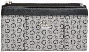 Peněženka Guess - Flowing Logo Fold-Over Black